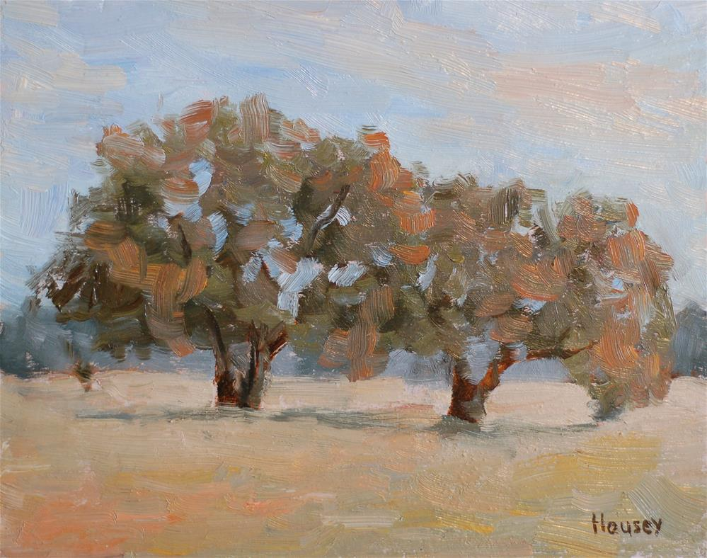 """""""Oaks"""" original fine art by Bruce Housey"""