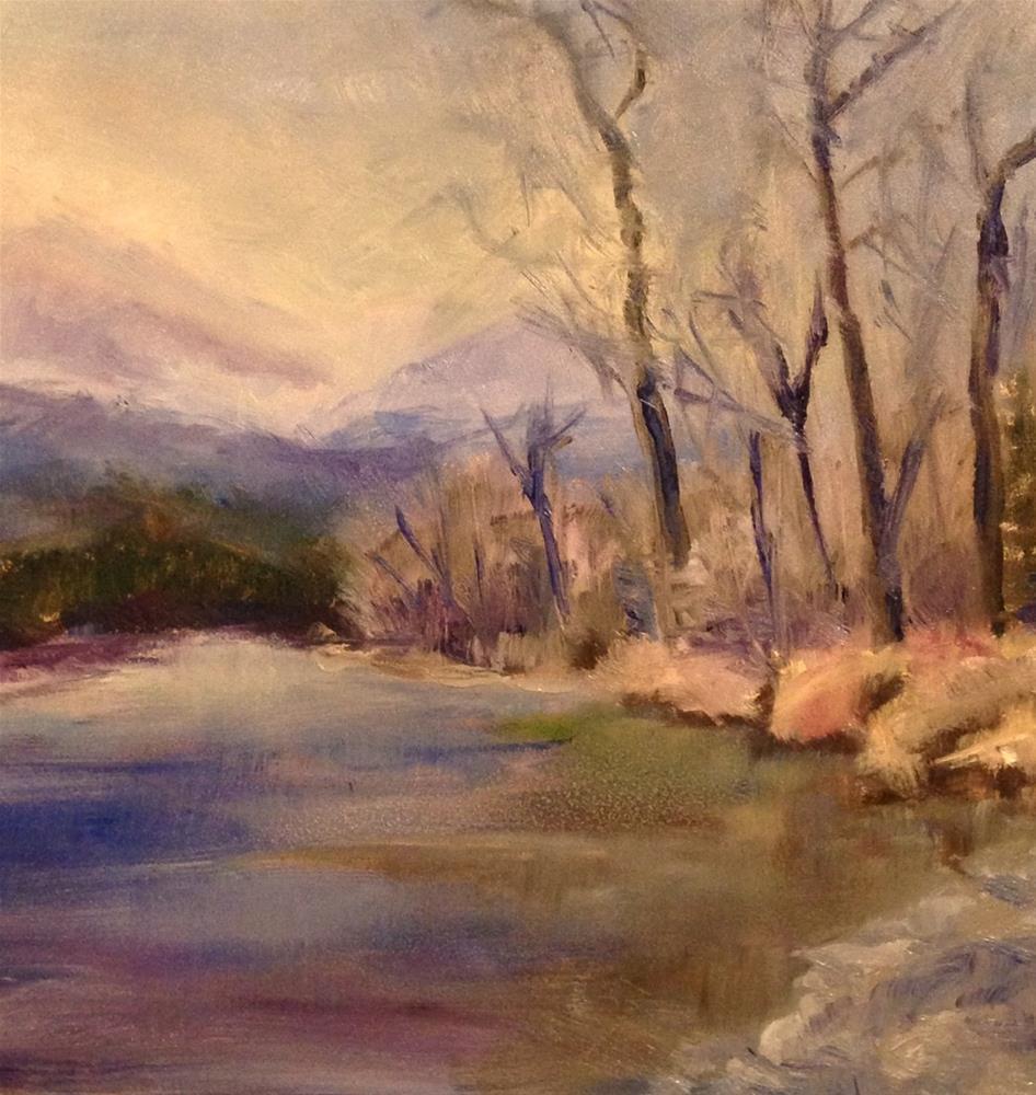 """mountain top"" original fine art by Brenda Short"