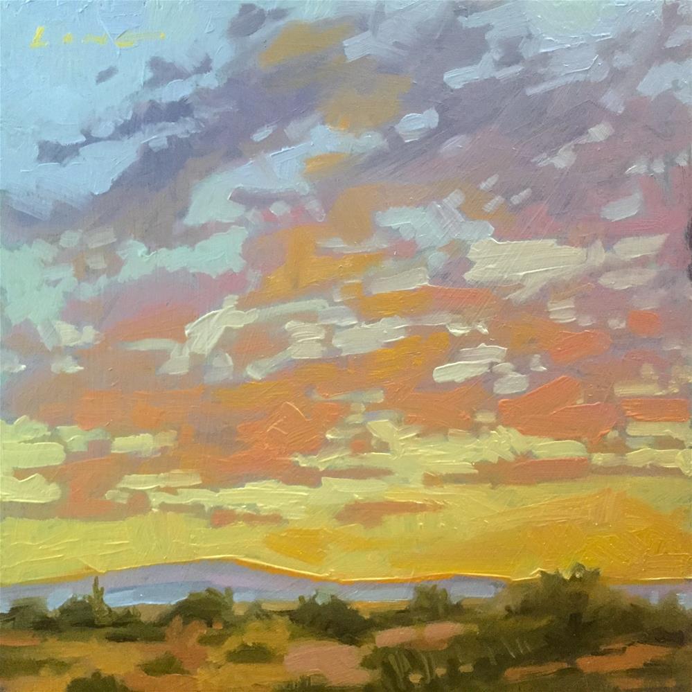 """Coachella, CA"" original fine art by Chris Long"