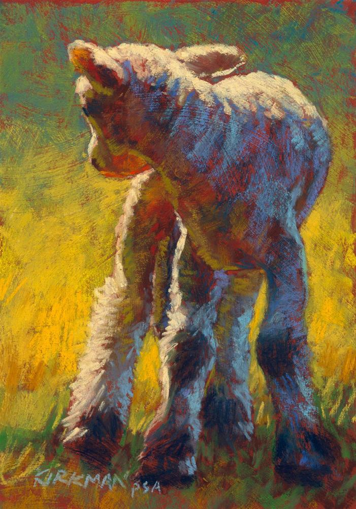"""Looking Back"" original fine art by Rita Kirkman"