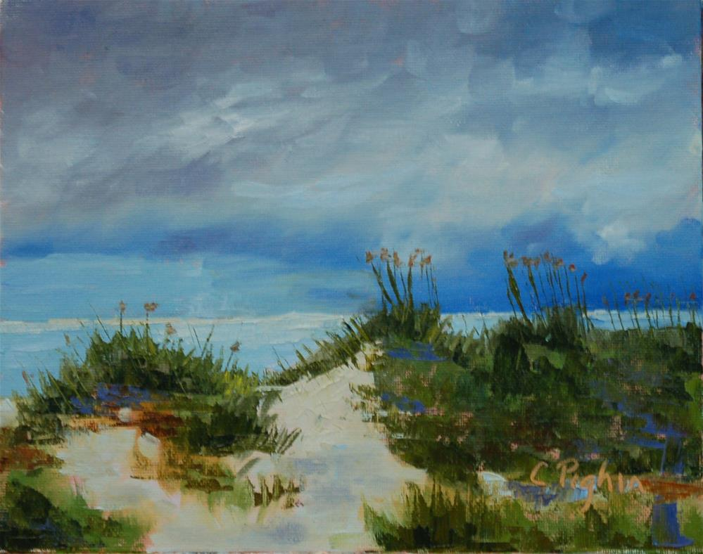 """Storm Clouds"" original fine art by Carol Pighin"