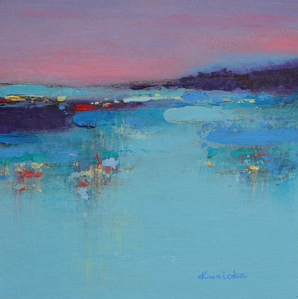 """Landscape 205"" original fine art by Ewa Kunicka"