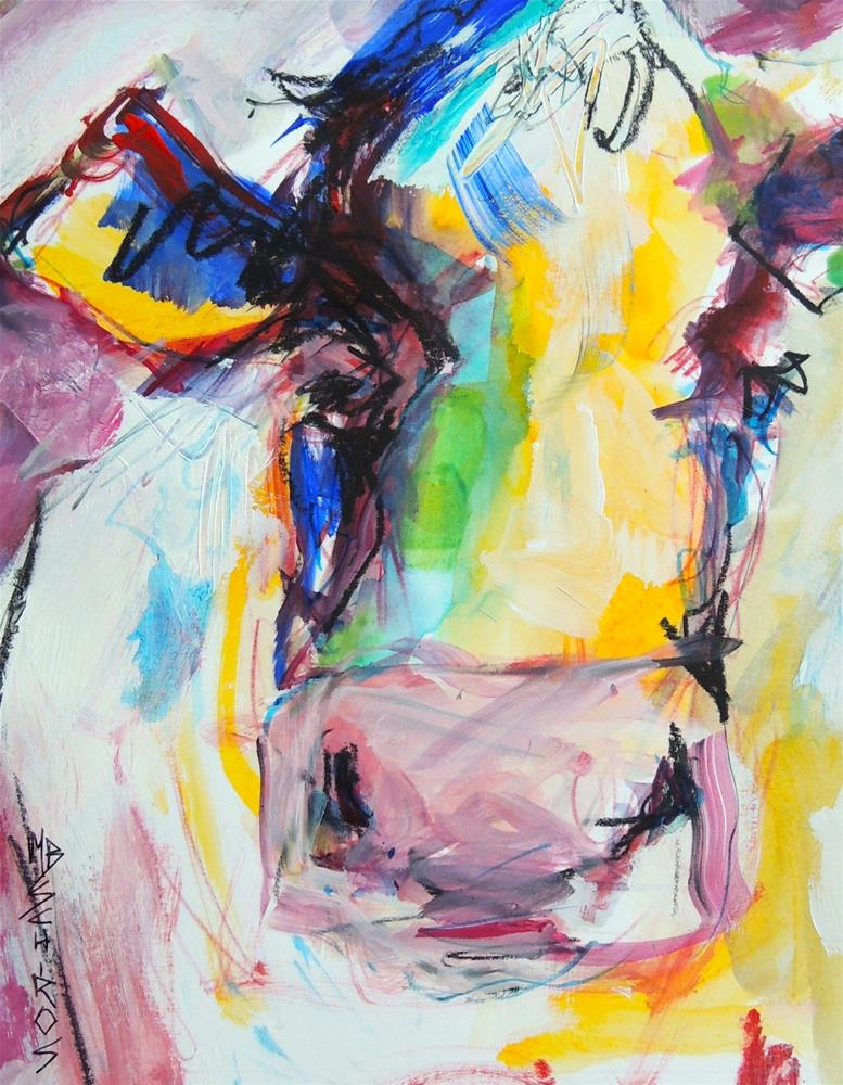 """Jolly"" original fine art by Mary Schiros"
