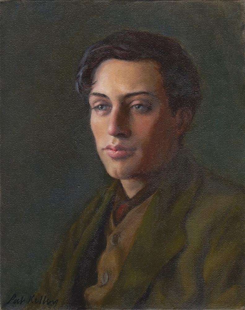 """""""Portrait of Duncan Grant"""" original fine art by Pat Kelley"""
