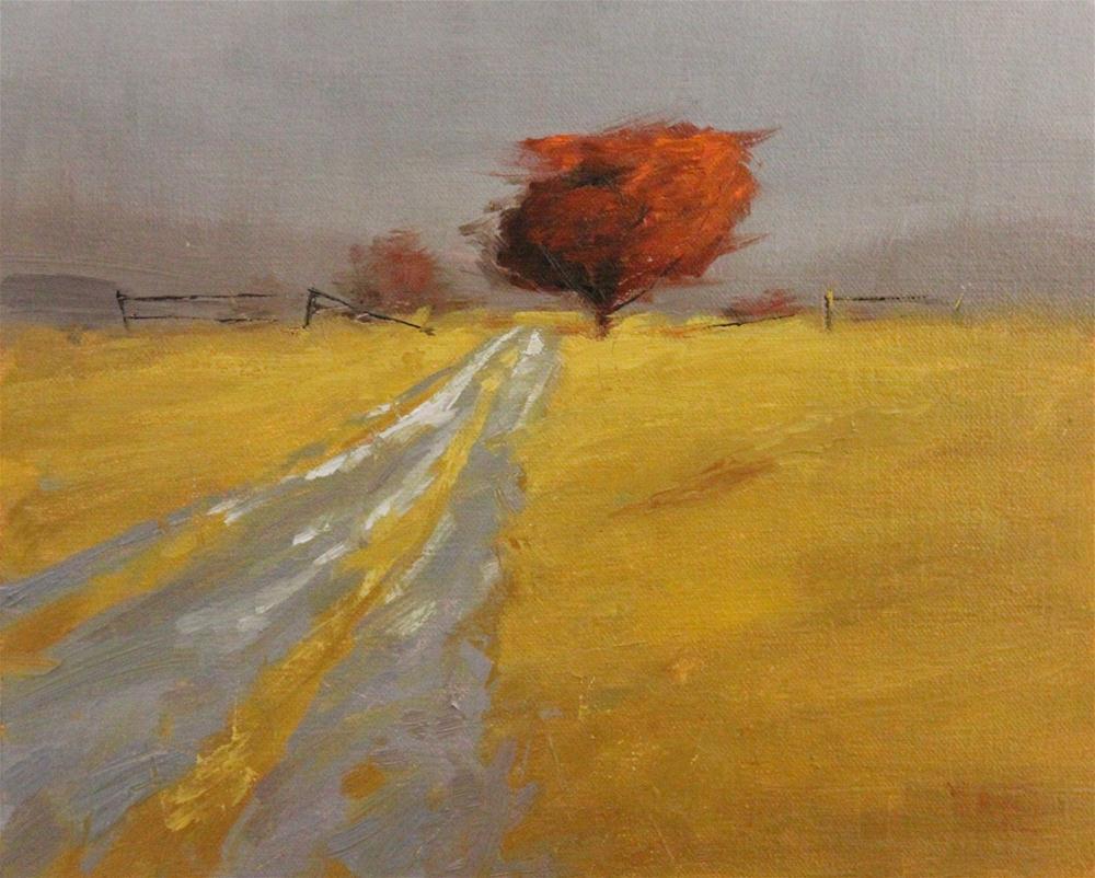 """Mountain Path 2"" original fine art by Thorgrimur Andri Einarsson"