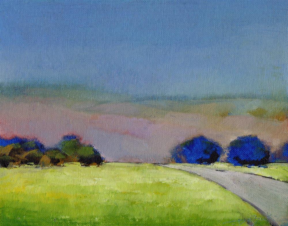 """Hill 2"" original fine art by Vova DeBak"