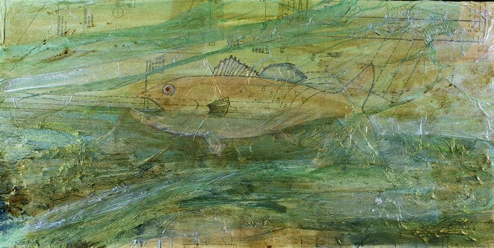 """""""Fish 002"""" original fine art by Marie Lynch"""