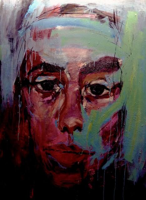 """""""David"""" original fine art by Mila Plaickner"""