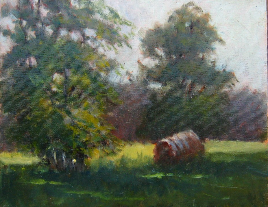"""A Summer Afternoon"" original fine art by Connie Snipes"