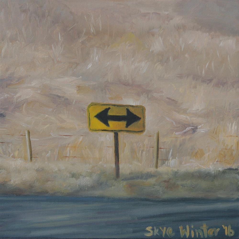 """Both Ways"" original fine art by Skye Coddington"