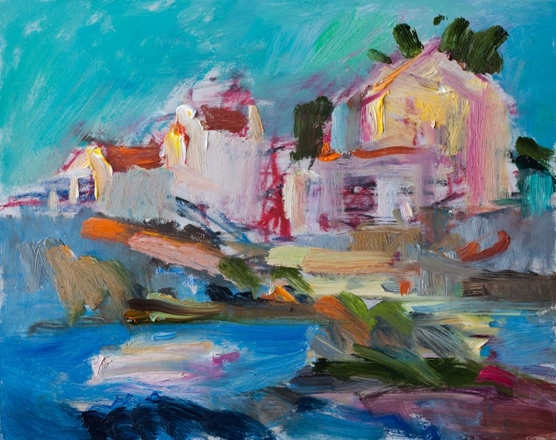 """Flying Summer Light"" original fine art by Anna  Fine Art"