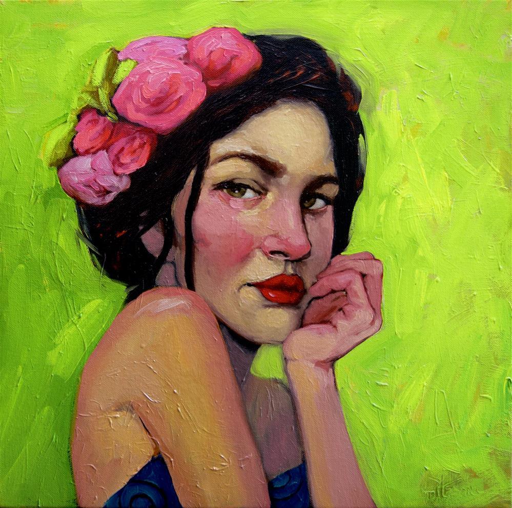 """""""Flora"""" original fine art by Kayleen Horsma"""
