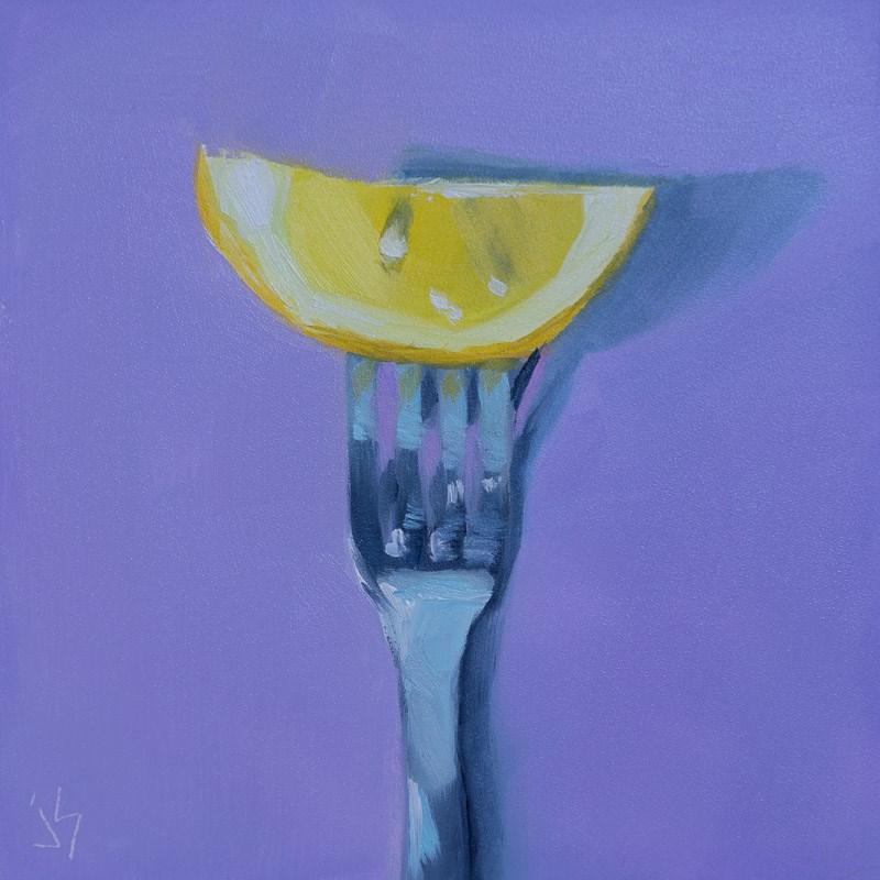 """""""Lemon Tines!"""" original fine art by Johnna Schelling"""