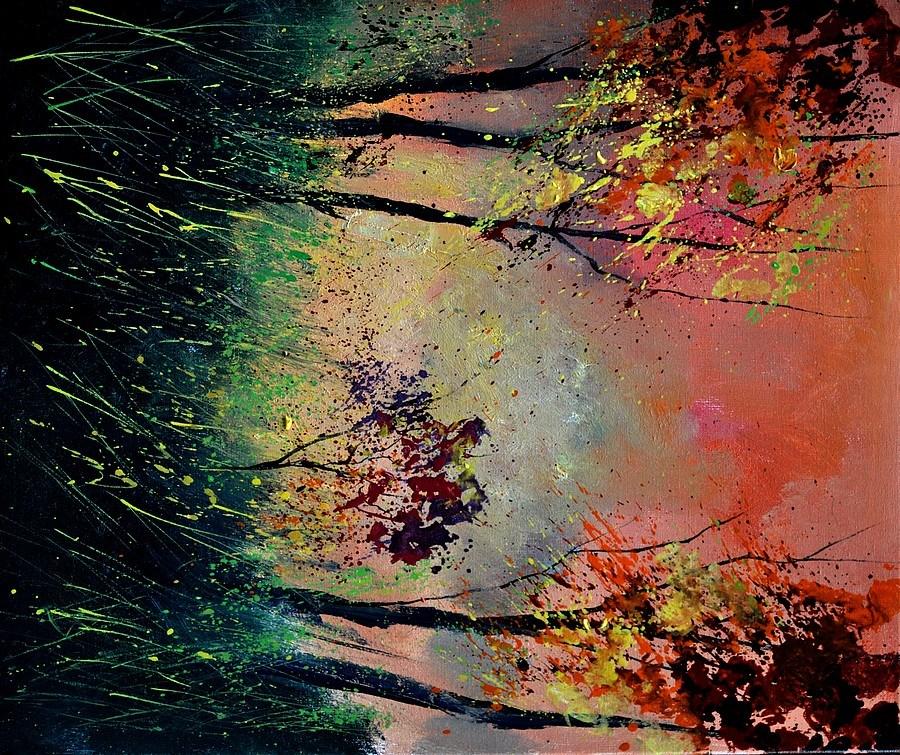 """""""autumn 5631"""" original fine art by Pol Ledent"""