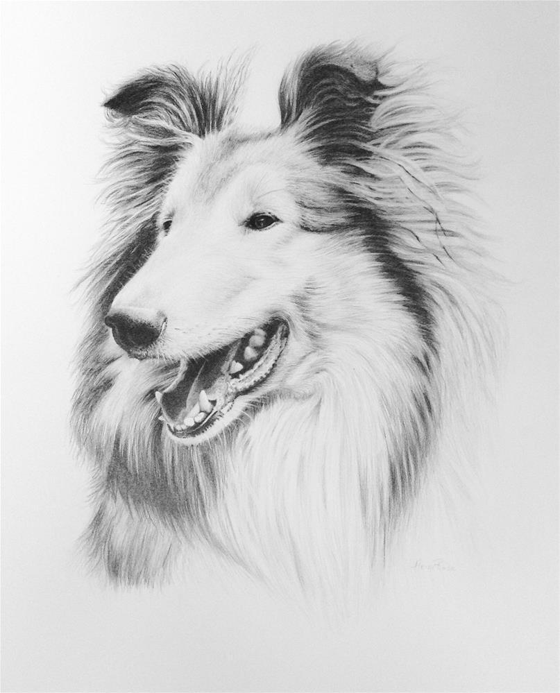 """Tamsin"" original fine art by Heidi Rose"