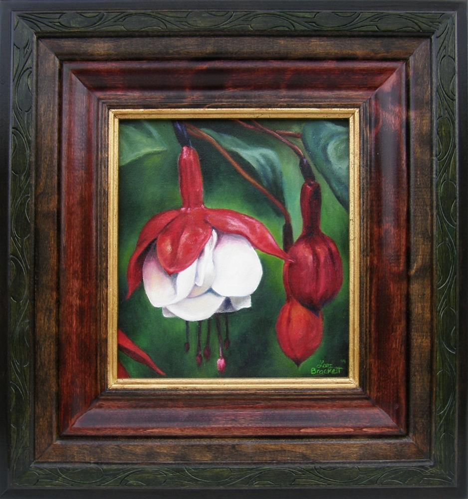 """""""Big, Bold, and Beautiful"""" original fine art by Lori Brackett"""