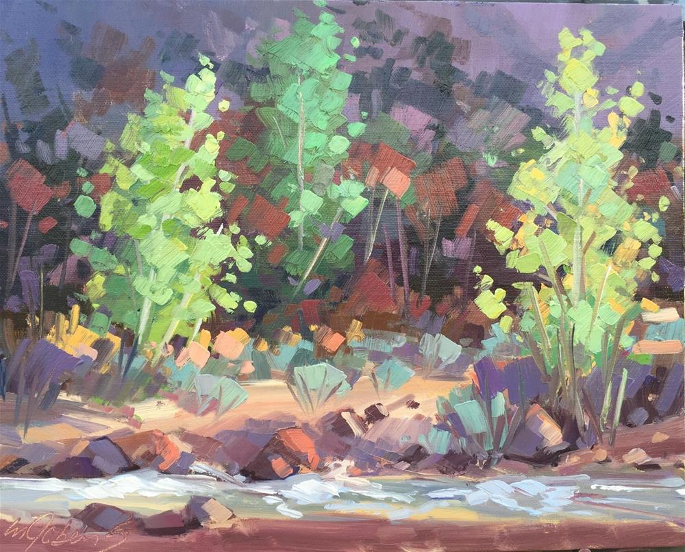 """""""The Start of Fall"""" original fine art by Mary Jabens"""
