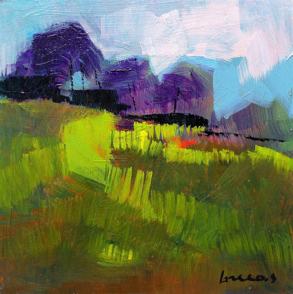 """Fields 3"" original fine art by salvatore greco"