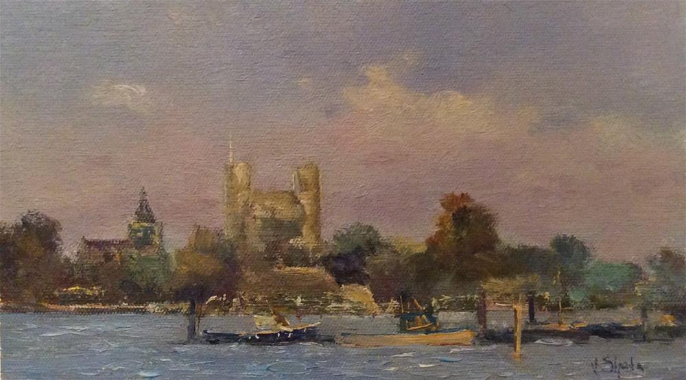 """Rochester Mooring"" original fine art by John Shave"