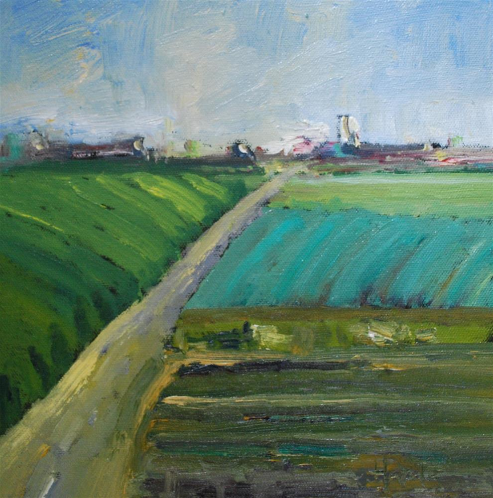 """Central Valley"" original fine art by Deborah Harold"