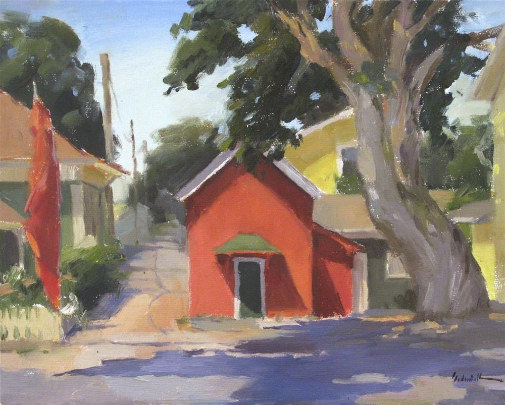 """Colorful Coburg"" original fine art by Sarah Sedwick"