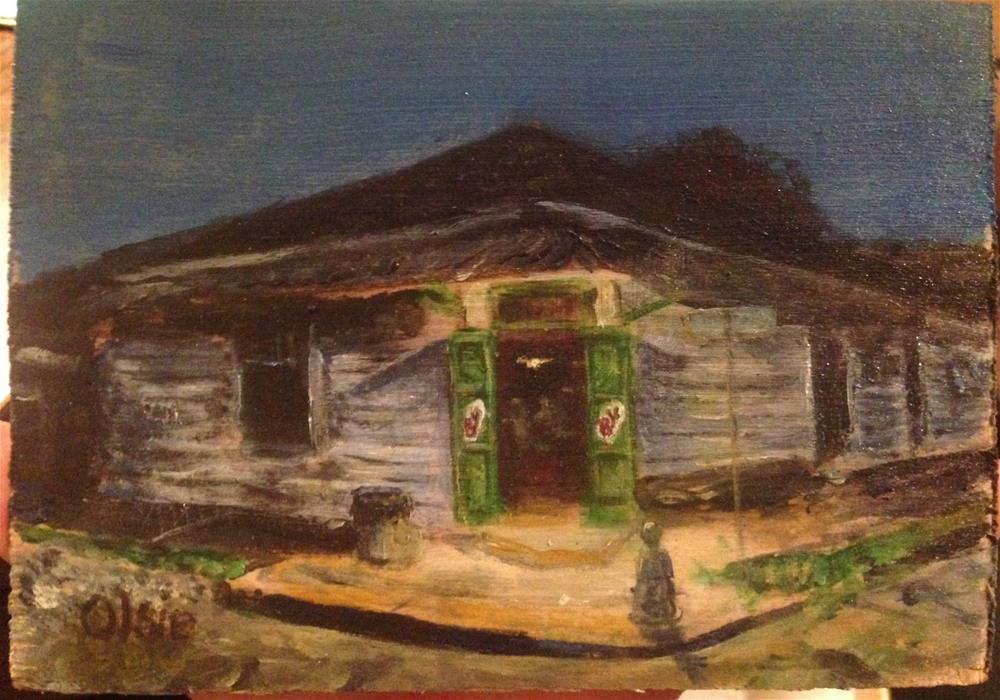 """Bj's Bywater"" original fine art by Eric Clay Dean"