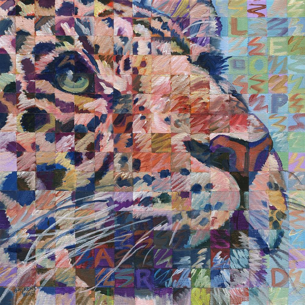 """Leopard No. 2"" original fine art by Randal Huiskens"