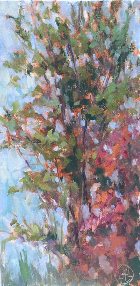"""changing palette"" original fine art by Dottie  T  Leatherwood"