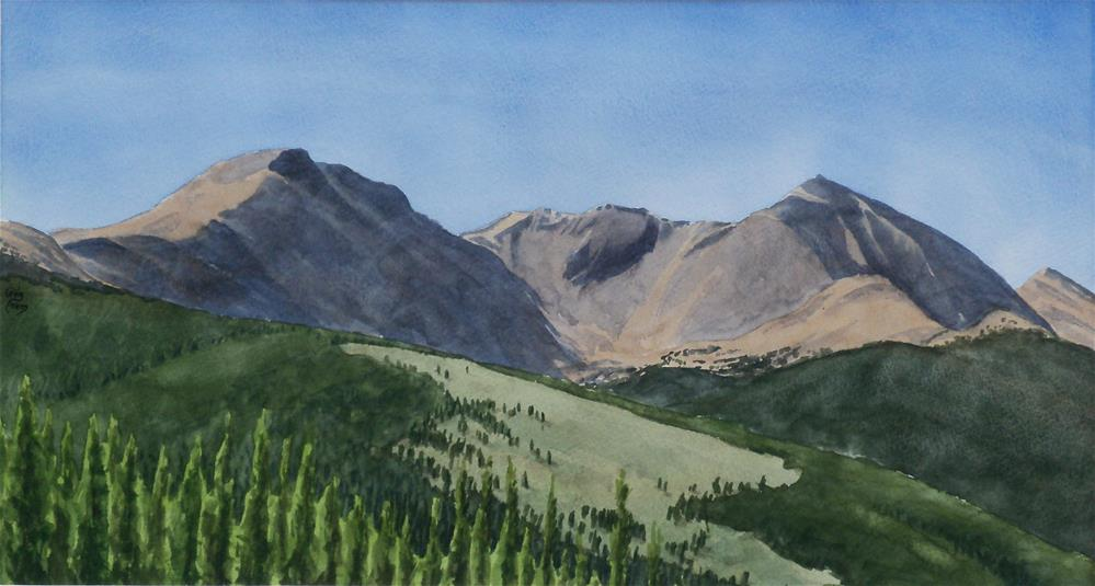 """Back of the Rockies"" original fine art by Greg Arens"