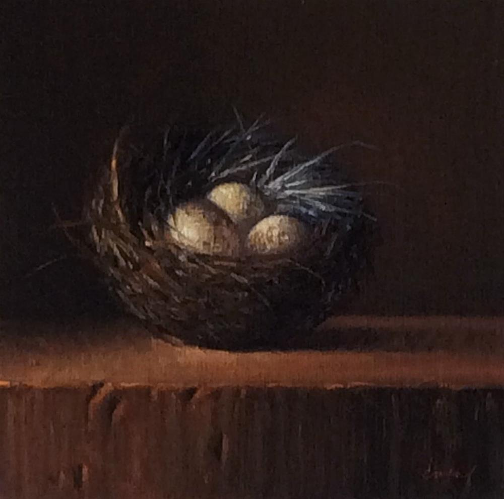 """Nestled Together"" original fine art by Darla McDowell"