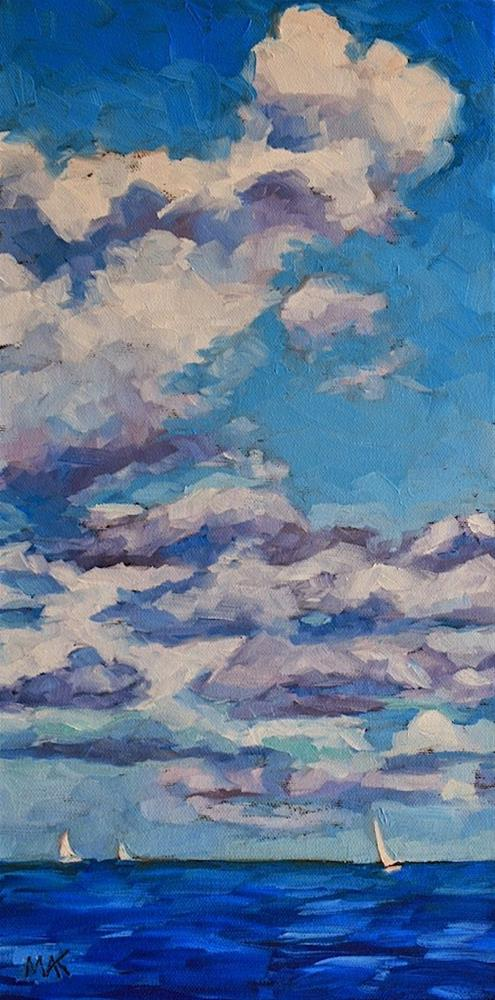 """""""Asea"""" original fine art by Mary Anne Cary"""