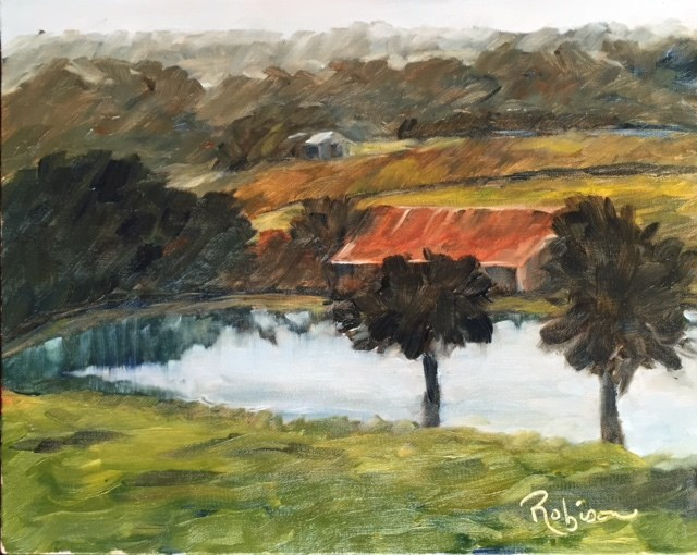 """Reflections: 1 of 30"" original fine art by Renee Robison"