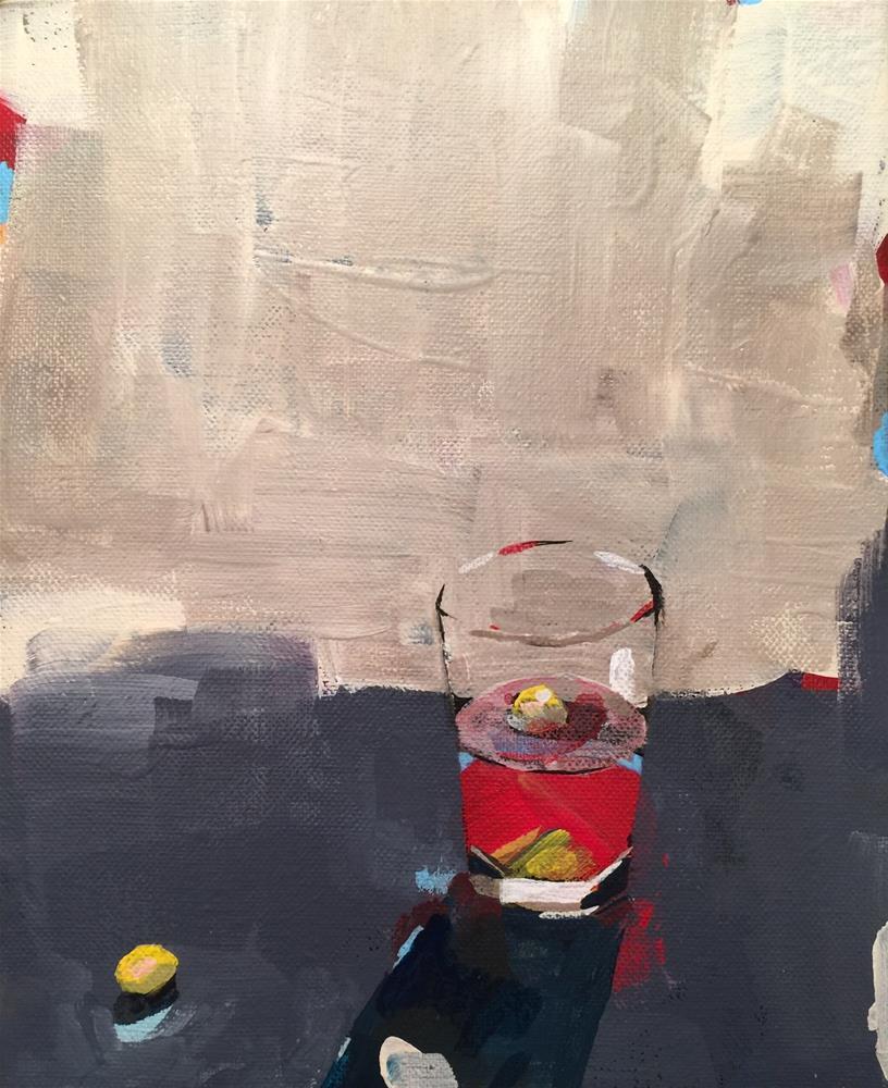 """""""Untitled"""" original fine art by Jenny Doh"""