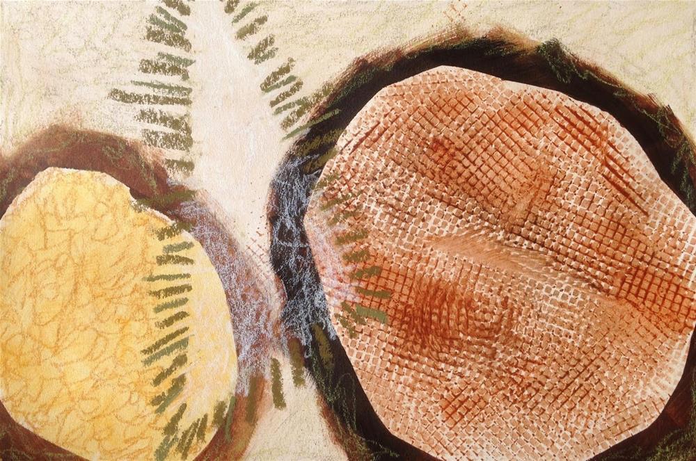 """Shapes, Day 6"" original fine art by Dotty  Seiter"