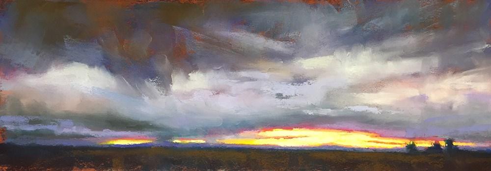 """Purple Storm"" original fine art by Marla Baggetta"