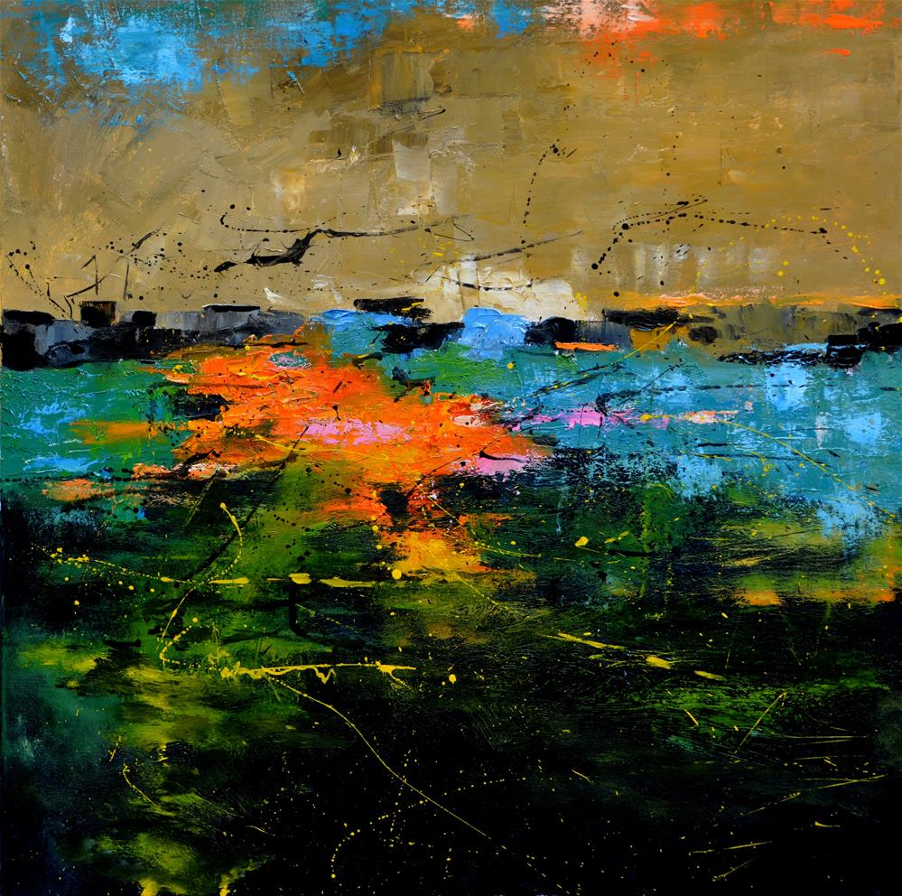 """abstract 7661902"" original fine art by Pol Ledent"