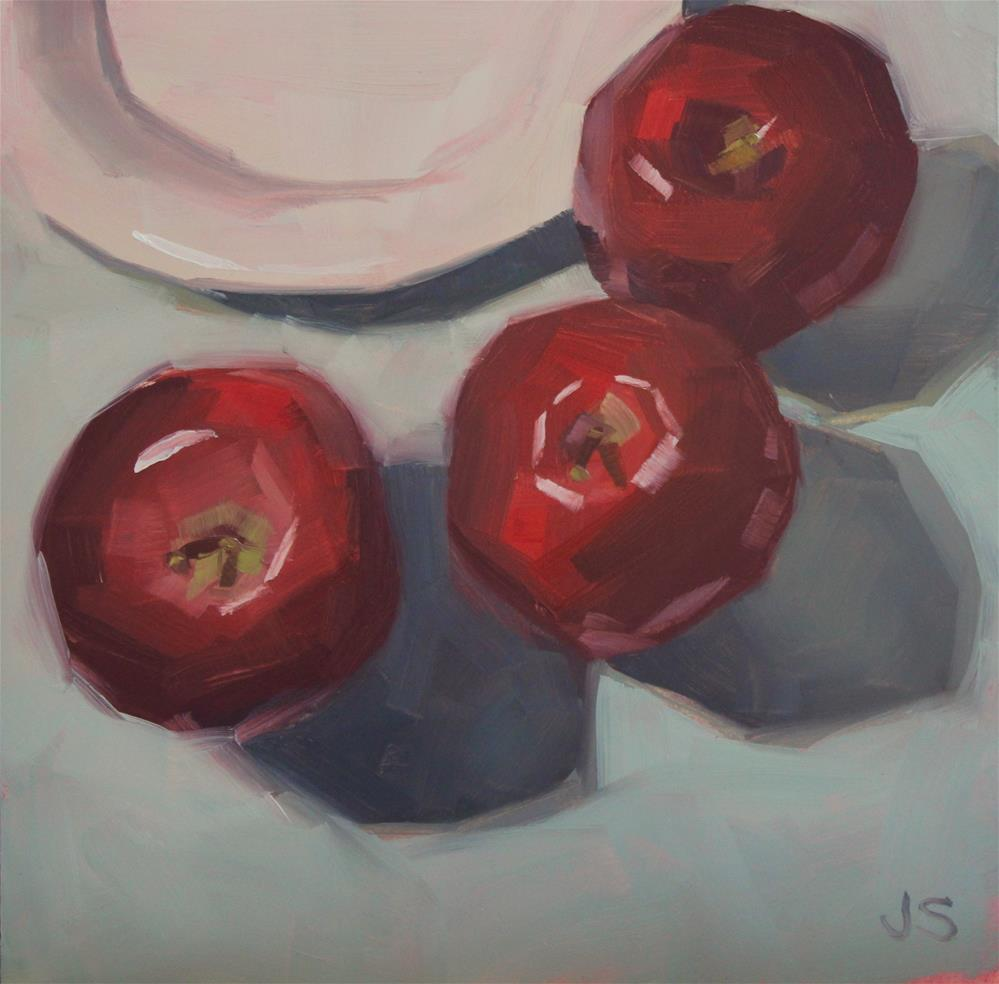 """Ruby Reds"" original fine art by Jamie Stevens"