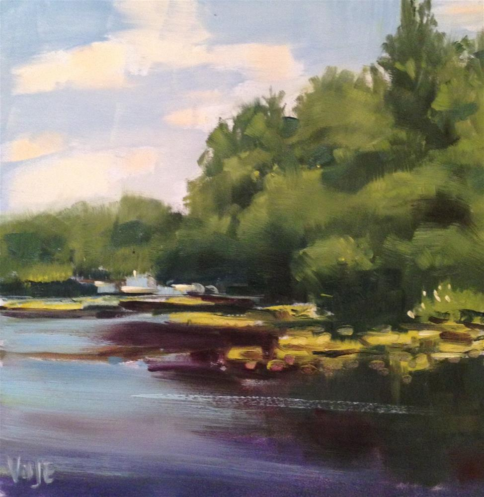 """#79 Up North"" original fine art by Patty Voje"