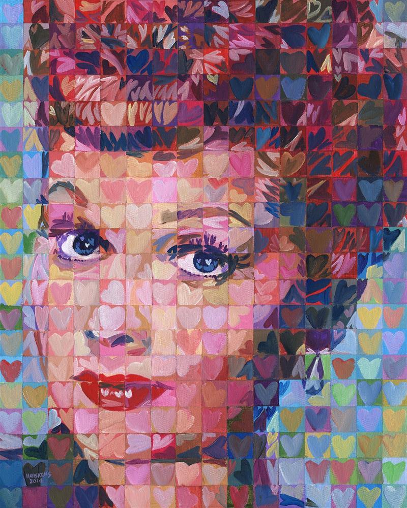 """I ♥ Lucy"" original fine art by Randal Huiskens"