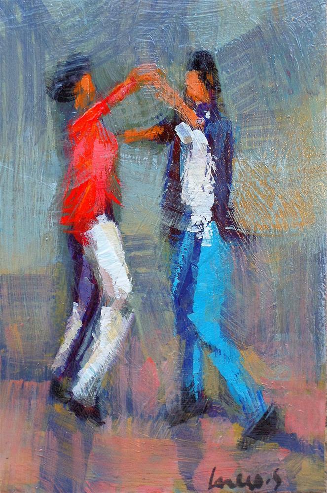 """""""Dance"""" original fine art by salvatore greco"""
