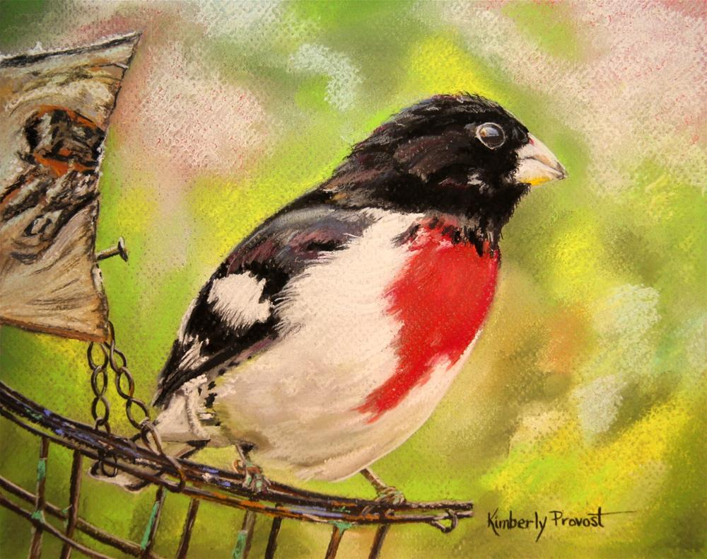 """""""Light as a Feather"""" original fine art by Kimberly Provost"""