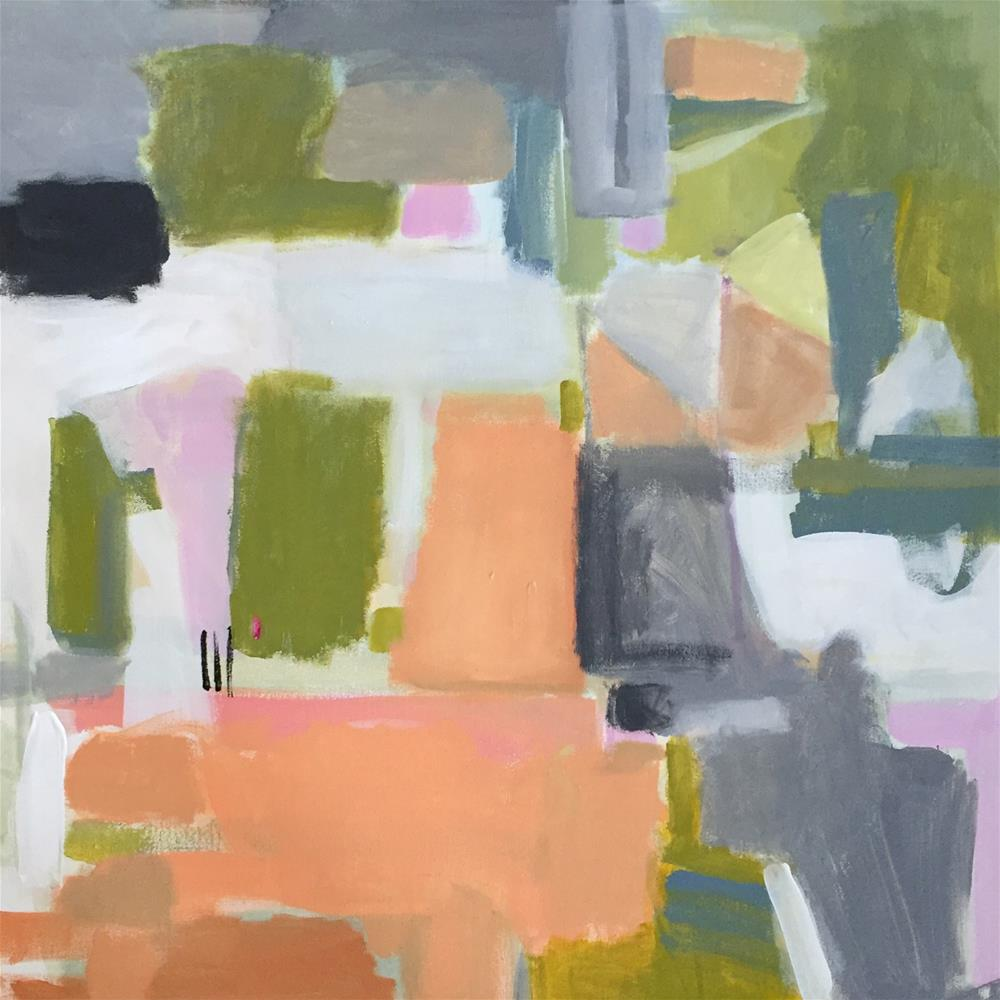 """Apricot Orchard"" original fine art by Pamela Munger"