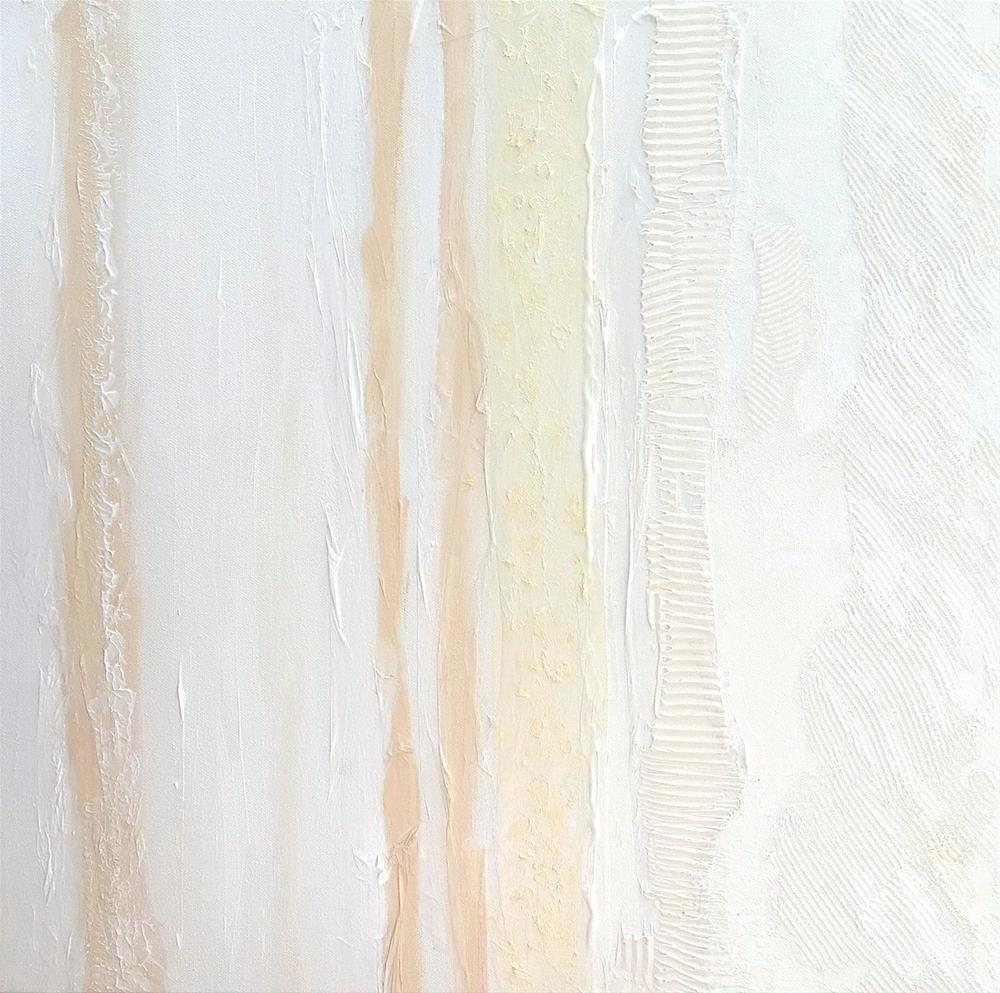 """5092 - White Lines II"" original fine art by Sea Dean"