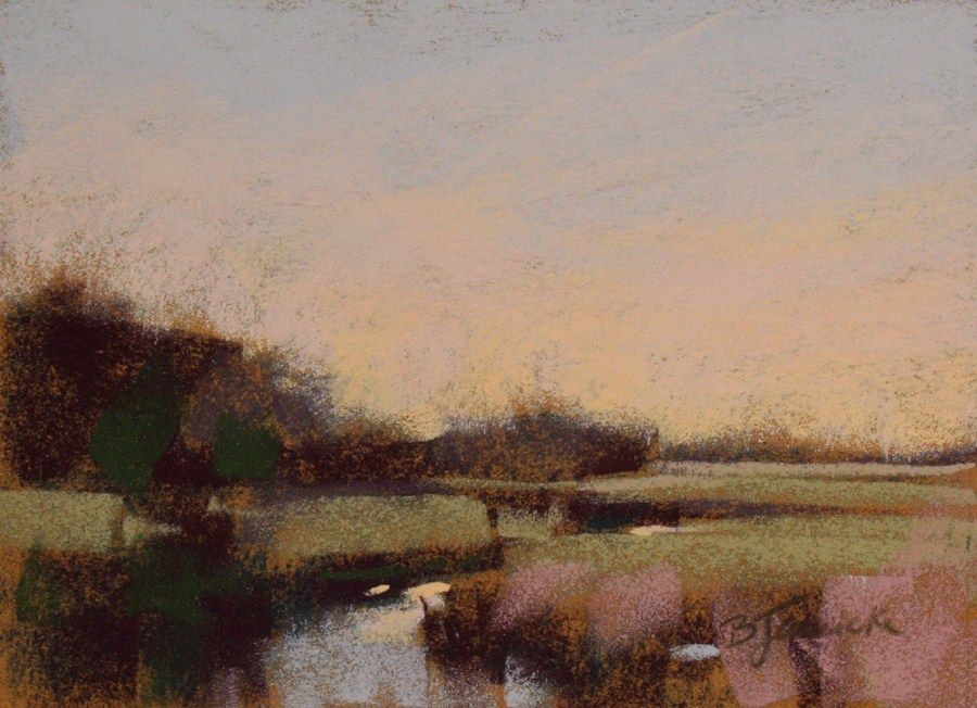 """The Marsh and Beyond"" original fine art by Barbara Jaenicke"