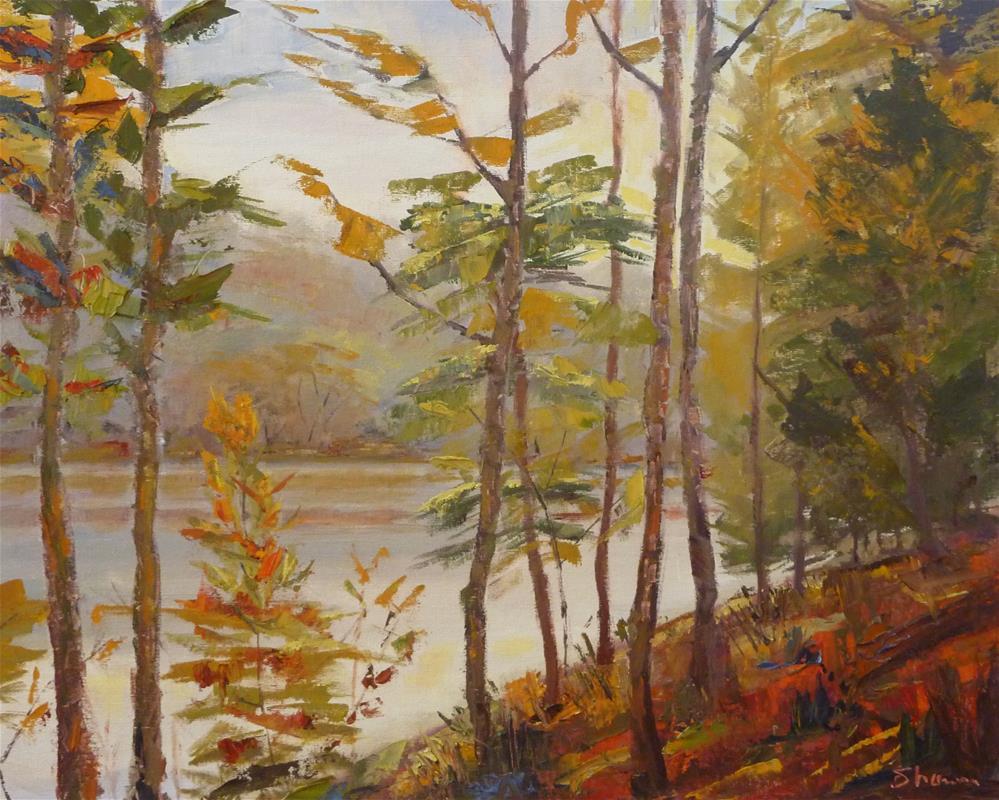 """""""Fall Inferno"""" original fine art by Shawn Deitch"""