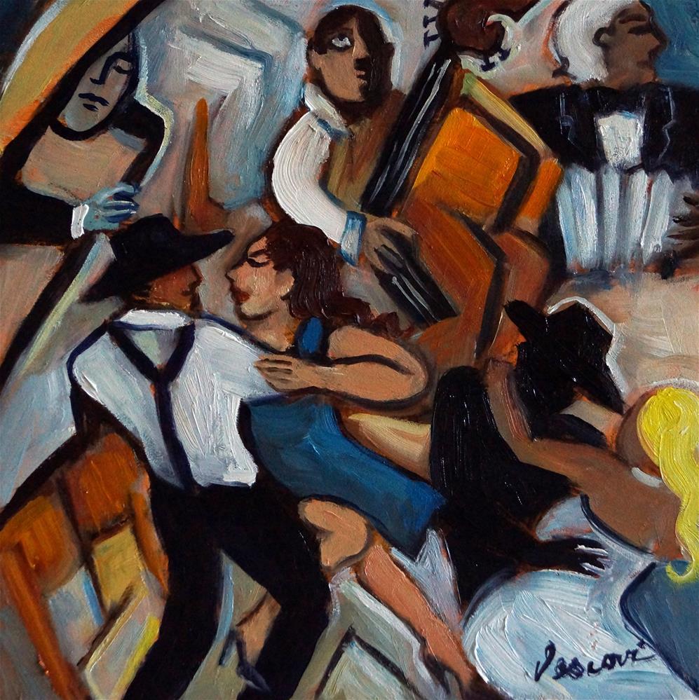 """Street Tango"" original fine art by Valerie Vescovi"