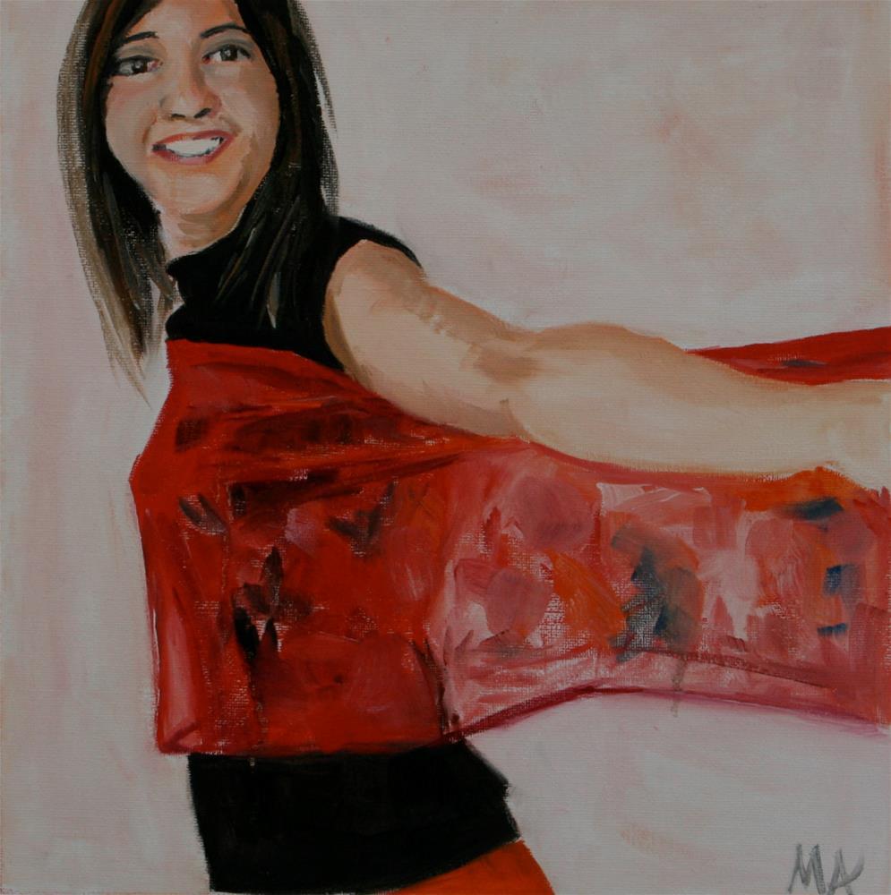 """Untitled"" original fine art by Aniko Makay"