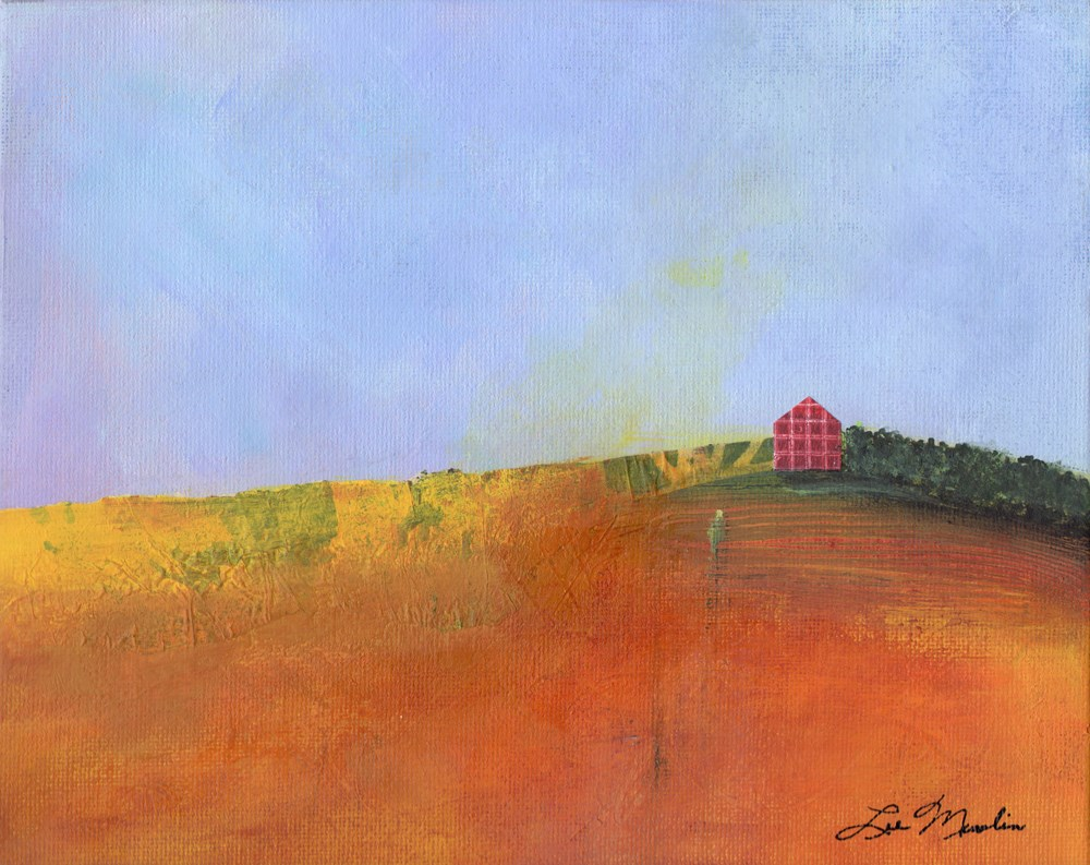 """Going Home"" original fine art by Lee Muslin"