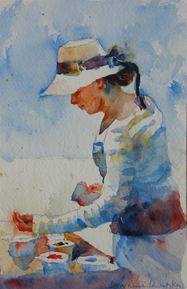 """The Gem Fair"" original fine art by Lorraine Lewitzka"