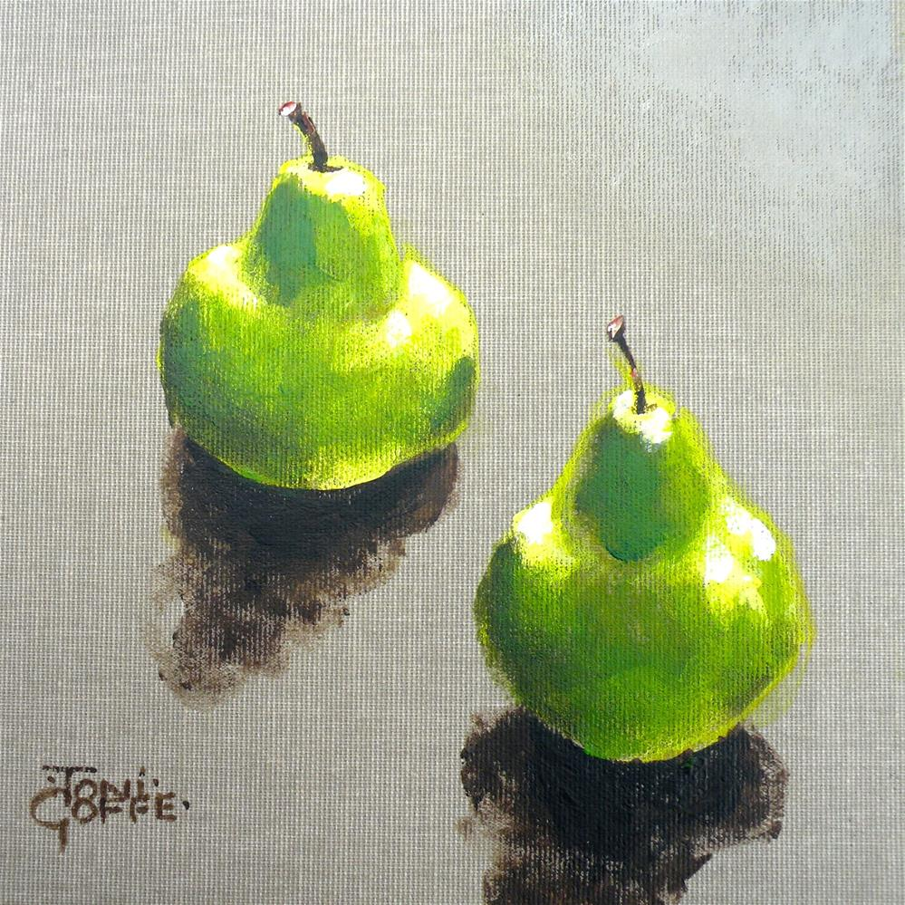"""A Nice Pair"" original fine art by Toni Goffe"